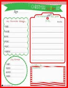 Xmas Wish List Template 25 Best Ideas About Christmas List Printable On Pinterest