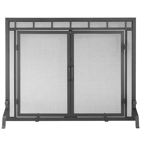 Pictured Here Is The Large Geo Design Fireplace Screen Oversized Fireplace Screens