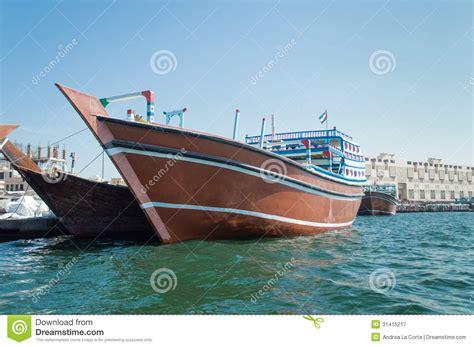 boats  dubai creek stock image image  sailing