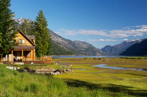 Cottage With A View by Stehekin Rick Holliday