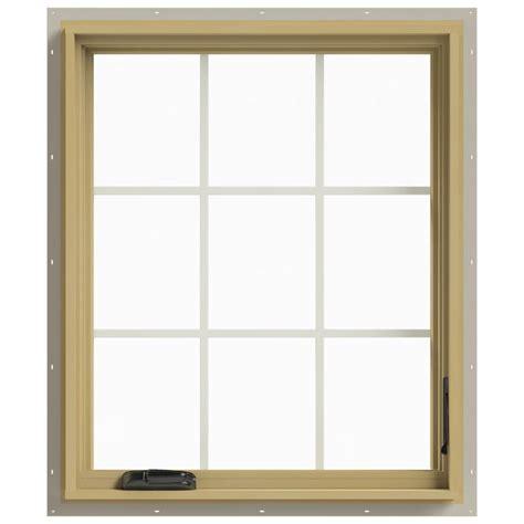 jeld wen awning windows jeld wen 30 in x 36 in w 2500 right hand casement