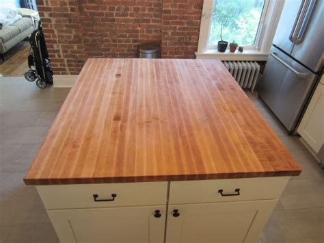 Austin Home Decor custom butcher block kitchen island top by elias custom