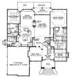 House Plans With Dual Master Suites Floor Plans On Pinterest Open Floor Plans Craftsman And