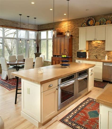built in kitchen islands 31 smart kitchen islands with built in appliances digsdigs
