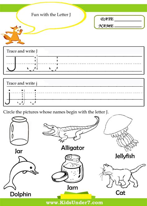 printable worksheets letter j free alphabet tracing letter j coloring pages