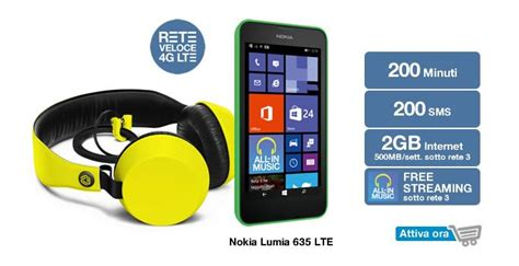 offerta mobile 3 offerte tre smartphone
