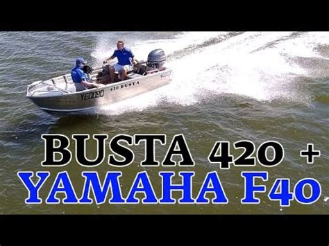 brisbane yamaha used boats quintrex busta 420 yamaha f40hp boat review brisbane