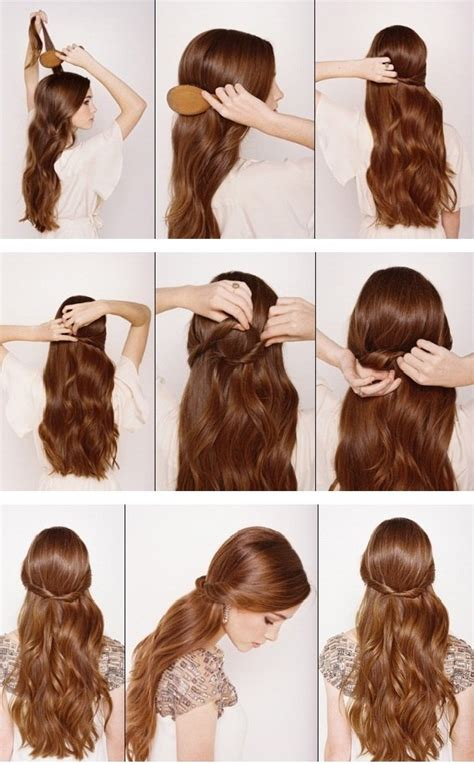 hairstyles tutorial photos 12 half up half down hair tutorials you must have pretty