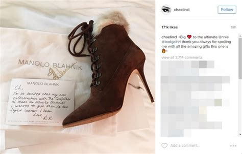Sepatu Rihanna Cewek Ms2233 berteman dekat cl eks 2ne1 pamerkan hadiah spesial dari