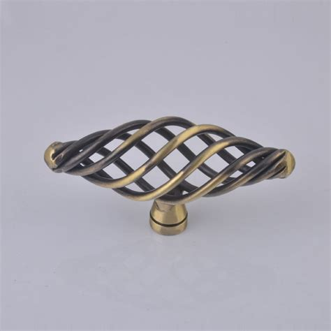 Birdcage Cabinet Knobs And Pulls by Vintage Birdcage Cabinet Handle Pull Knob Antique Bronze