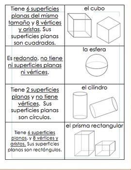 figuras geometricas y sus caracteristicas para niños characteristics of 3d shapes caracter 237 sticas de los