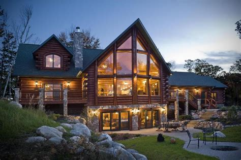 modern log home plans fantastic natural log cabin house with elegant wooden