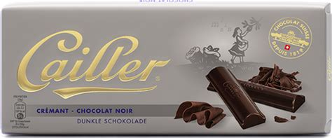 lindt 85 carbohydrates cailler cr 233 mant 100g cailler