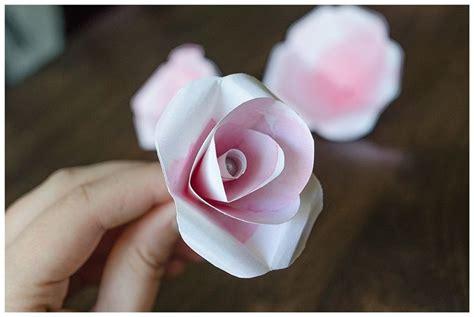 come fare un fiore di come fare un fiore di carta tutorial fiori di carta