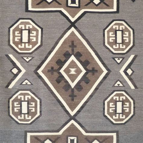 This Plate Is A Rug by J B Navajo Plate Rug Circa 1910 For Sale At