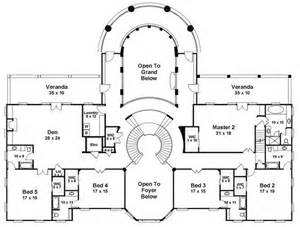 Grand Staircase Floor Plans House Plans With Double Staircase Joy Studio Design