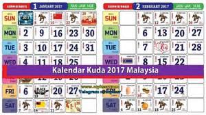 Kalendar Kuda 2018 Kalendar Kuda 2017 Malaysia Mykssr