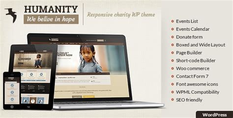 themeforest veda humanity ngo charity ngo wordpress theme theme for u
