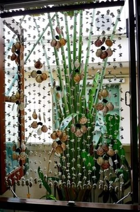 seashell door curtain 17 best images about alternative window treatments on