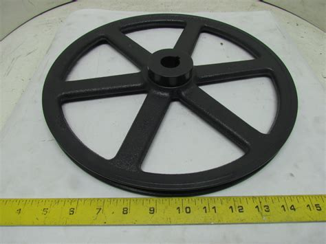 browning ak134x1 1 groove pulley sheave 1 quot finished bore 3l
