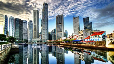 modern city modern city of singapore wallpaper city wallpaper