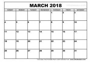 Finland Calendã 2018 March 2018 Calendar Printable