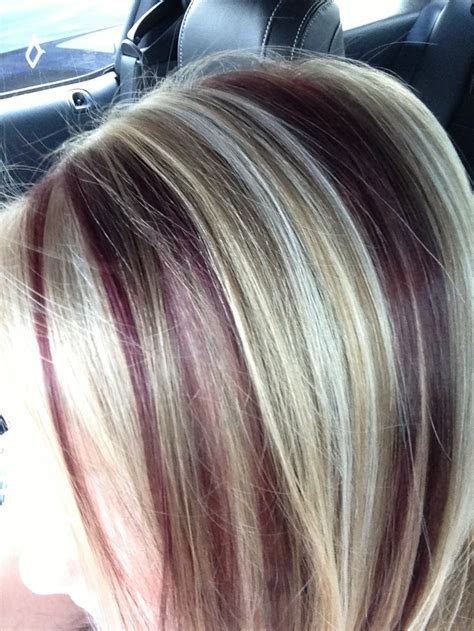 streaked hair color pictures color streaked hair in 2016 amazing photo