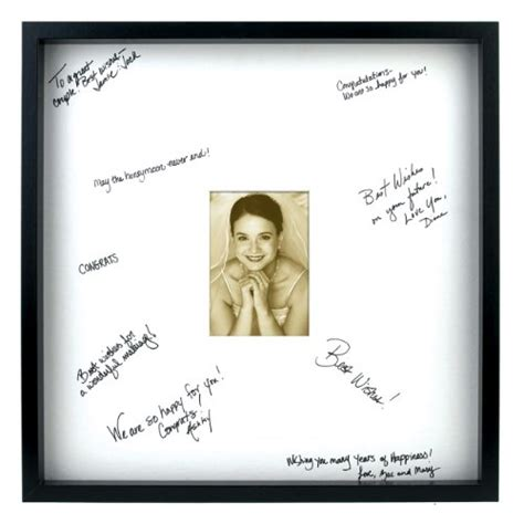 Picture Frame Signature Mat by Signature Mat Frame Findgift
