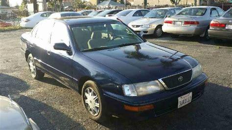 1997 Toyota Avalon For Sale 1997 Toyota Avalon For Sale Carsforsale