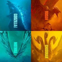 godzilla king   monsters   posters