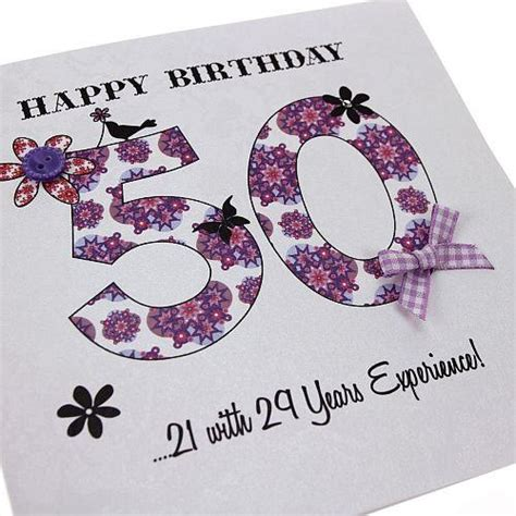 Handmade 50th Birthday Card Ideas - 43 best images about occassion birthday cards on