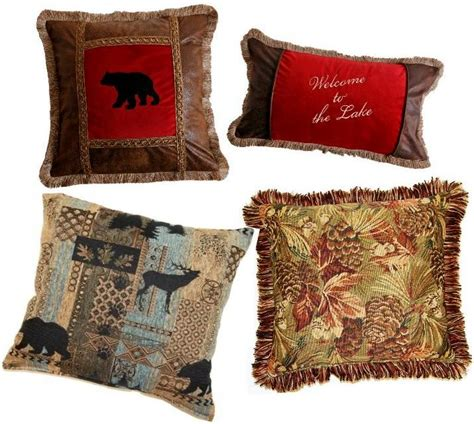 Lodge Throw Pillows by Pillows Decorative Throw Lodge Rustic Creative