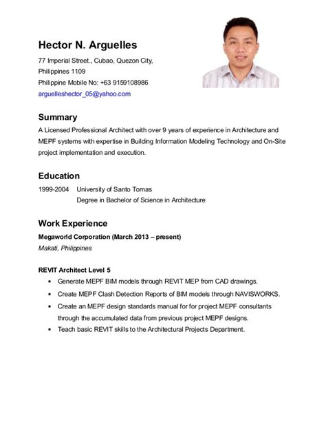 Resume Sle In Jollibee Objective For Resume Jollibee 28 Images Affordable Price Application Letter For Jollibee