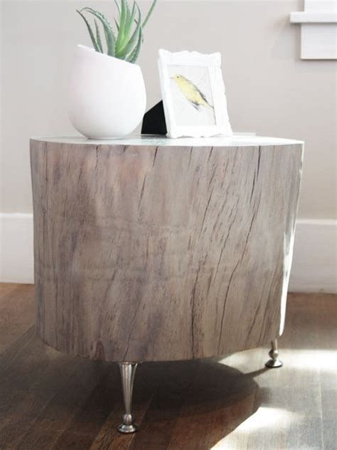 Diy Tree Stump Coffee Table Diy Stylish Tree Trunk Coffee Tables That Will The Show