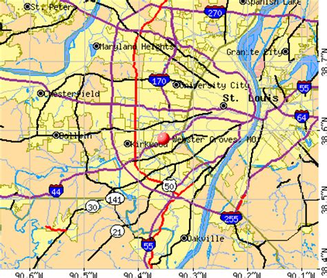 webster groves, missouri (mo 63119) profile: population