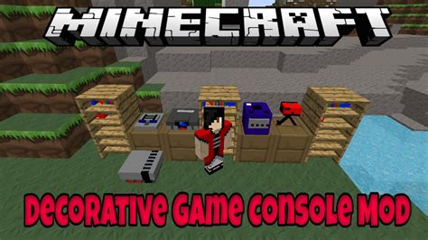 game mod in minecraft minecraft decorative game console mod what all gamers