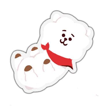 bt21 rj sticker by baebwi on deviantart