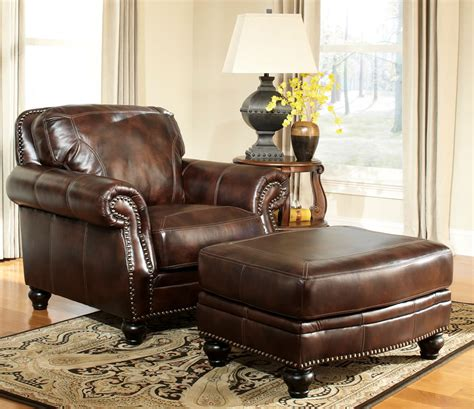 leather chair and ottoman leather chair and ottoman with a half ideas editeestrela