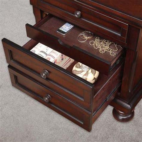 hidden drawer nightstand plans homelegance cumberland transitional 3 drawer nightstand