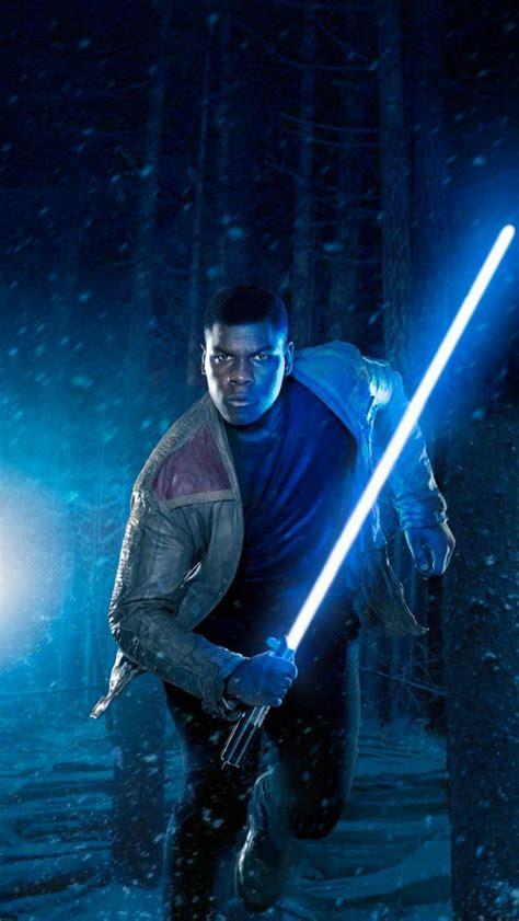 Wars The Awakens Finn wars vii the awakens finn with light saber wars the