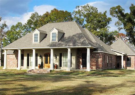 3 Bed French Acadian House Plan 56327sm Architectural Acadian House Plans
