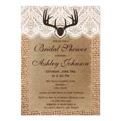 country bridal shower invitations 147 best country bridal shower invites images on
