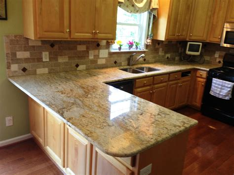 Lowes Kitchen Backsplash Tile colonial gold granite countertops charlotte nc