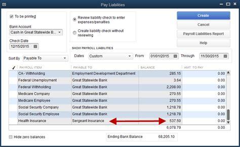 quickbooks tutorial payroll setup payroll liability vs expense quickbooks training