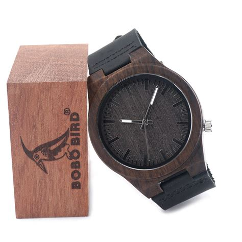 Bobo Bird D12 wooden watches wood sunglasses for box club co