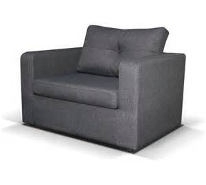 buy max fabric chair bed charcoal at argos co uk your