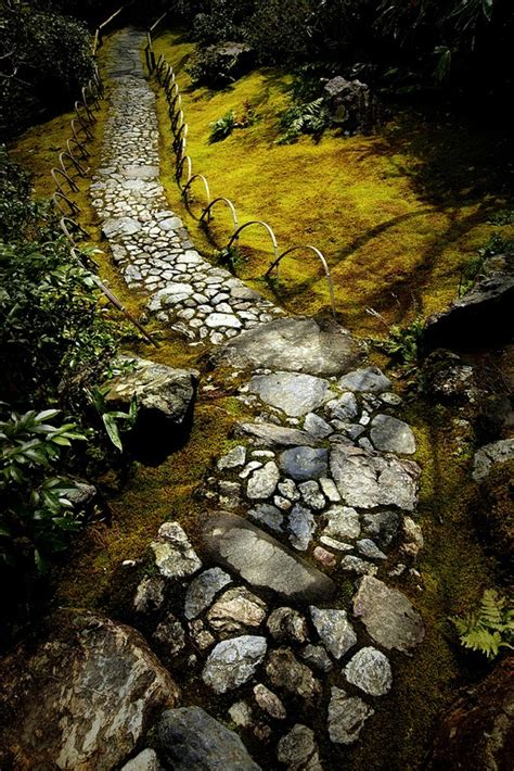 mesmerizing garden stone path ideas godfather style