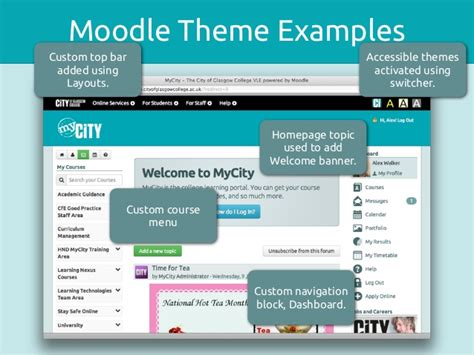 moodle themes best theming moodle technical
