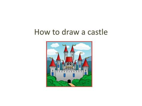 how to make doodle presentations ppt how to draw a castle powerpoint presentation id