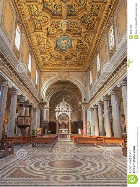 schip kerk rome het schip van kerk san crisogono in trastevere